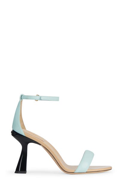 Givenchy CARENE TWO-TONE ANKLE STRAP SANDAL