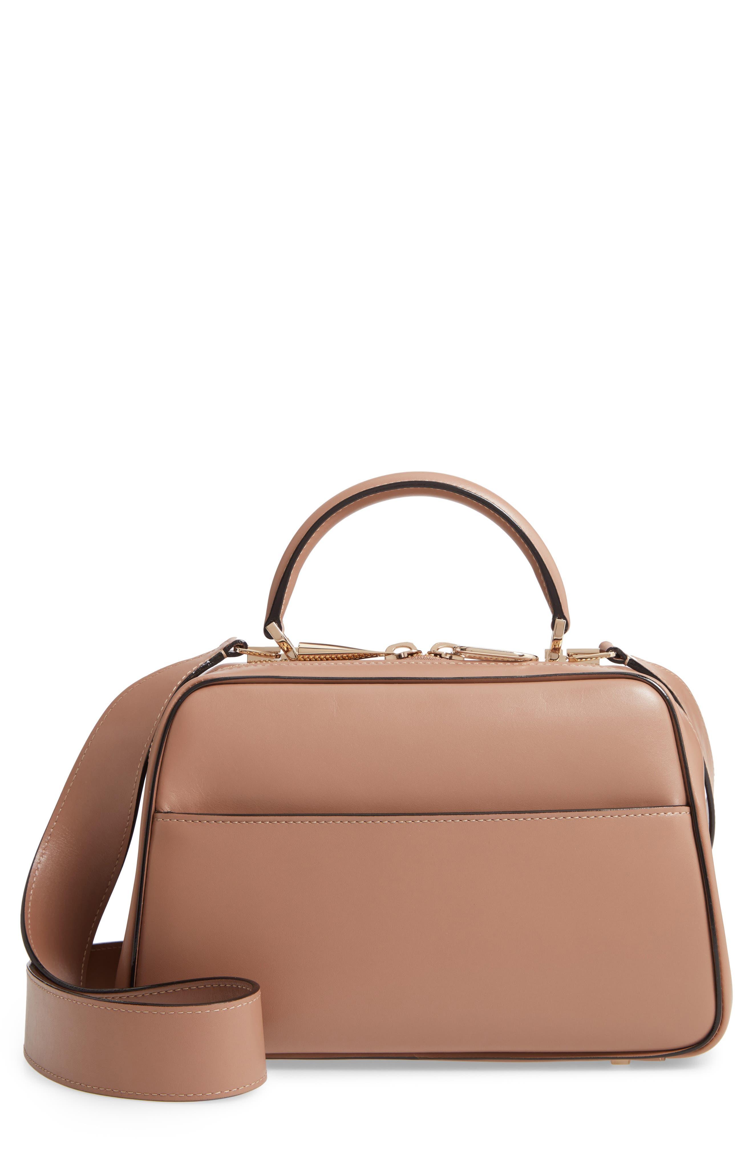 Valextra Medium Serie Leather Top Handle Bag   Nordstrom