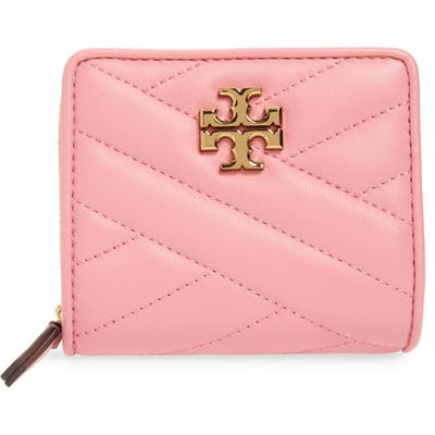 Tory Burch Kira Chevron Quilted Bifold Wallet - Pink