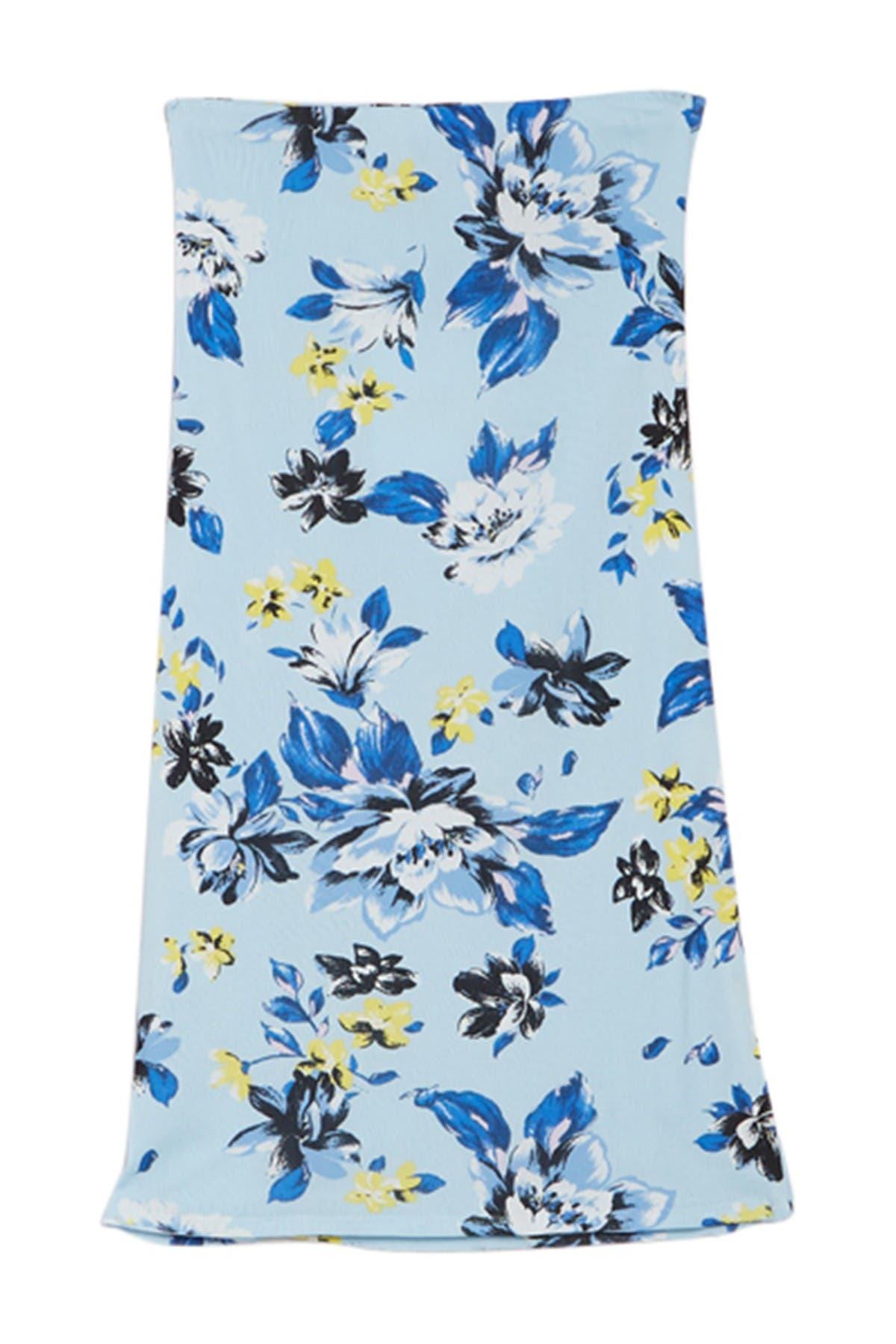 Image of Diane von Furstenberg Willa Floral Print Pencil Skirt