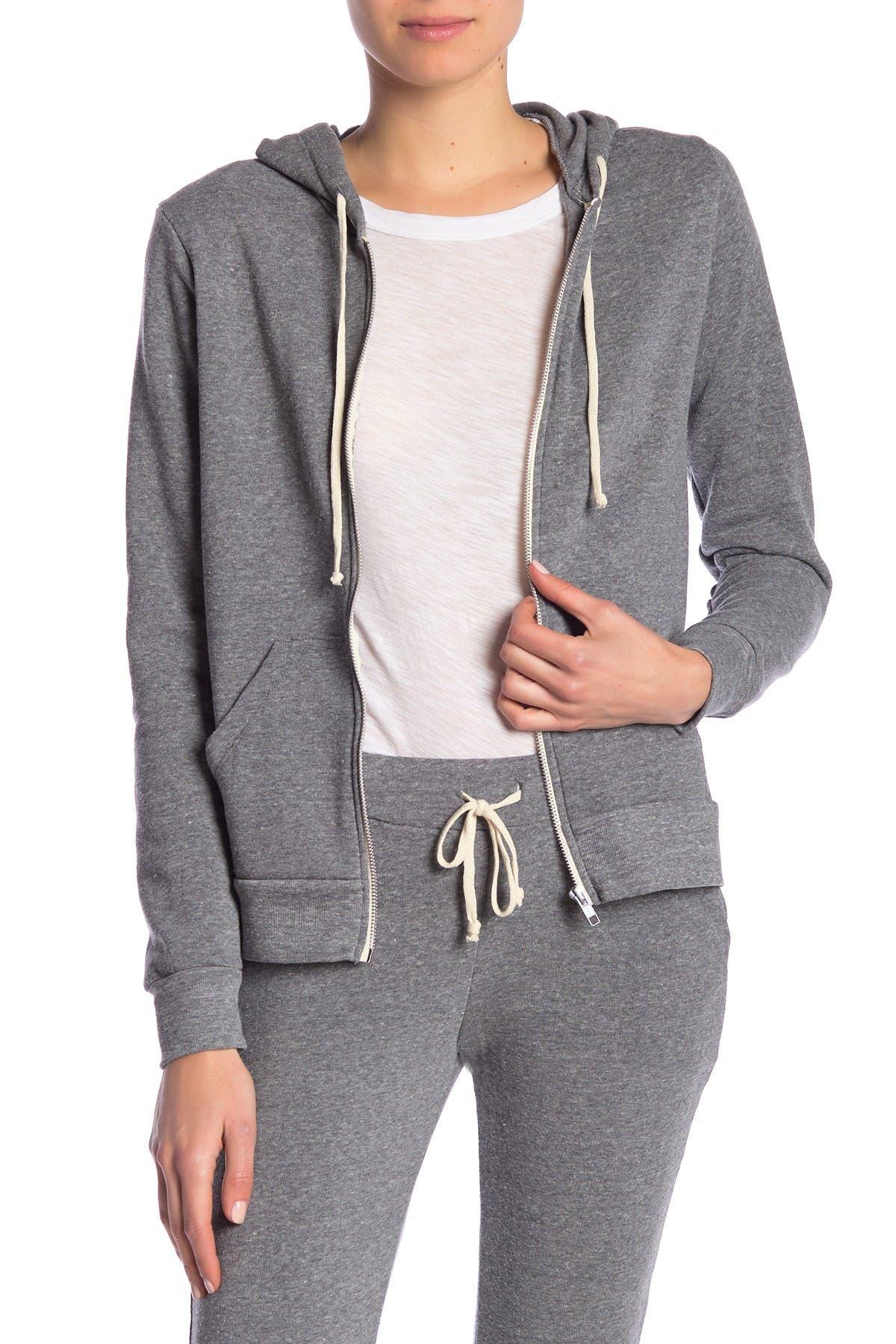 Image of Alternative Set In Fleece Zip Hoodie