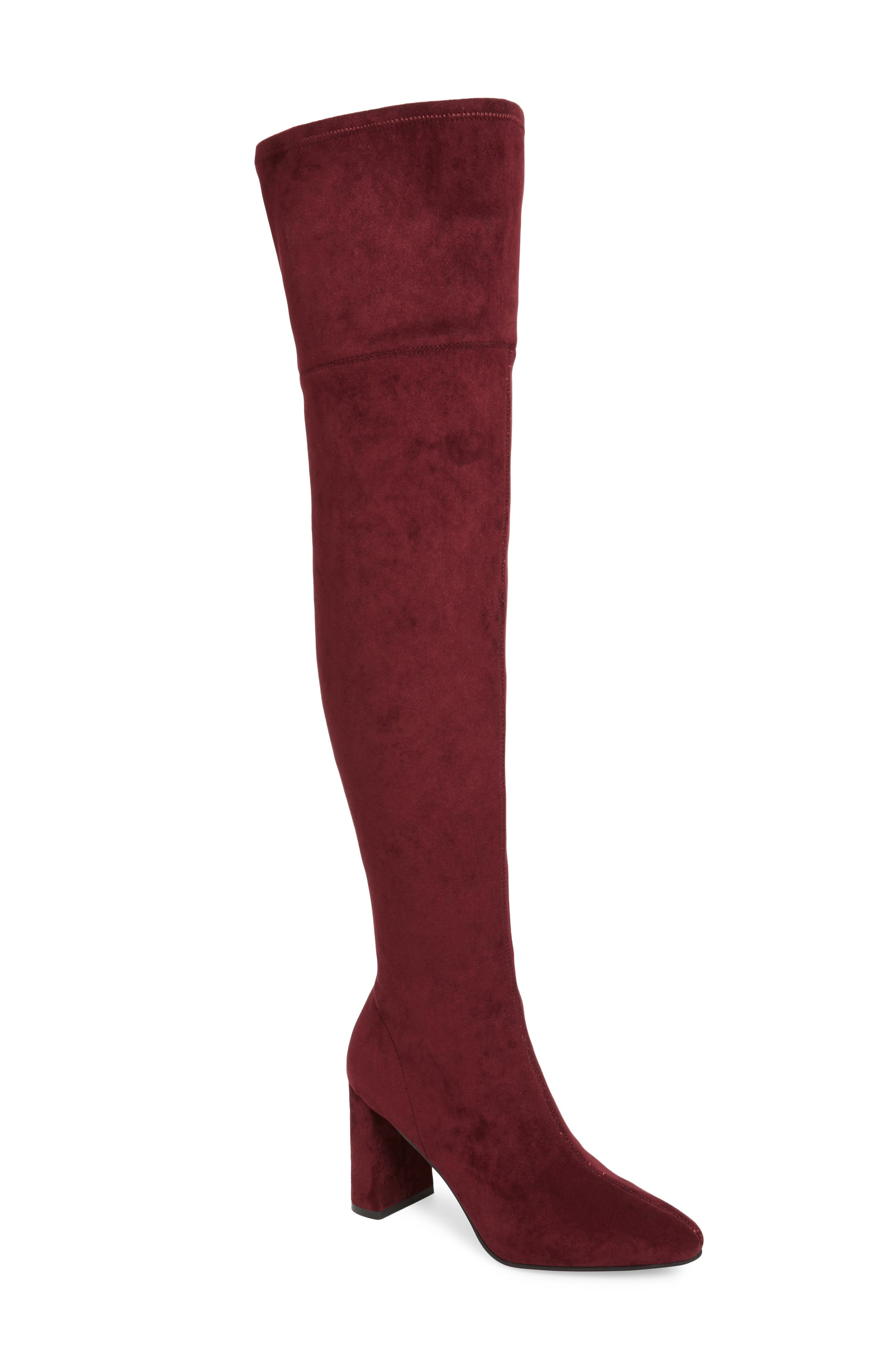 Jeffrey Campbell Parisah Over the Knee Boot (Women)