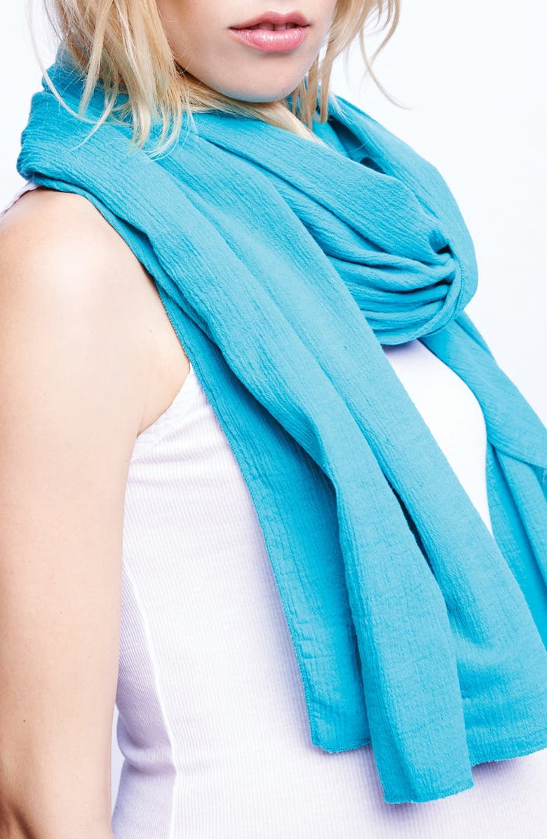 MATERNAL AMERICA Nursing Scarf, Main, color, MINT