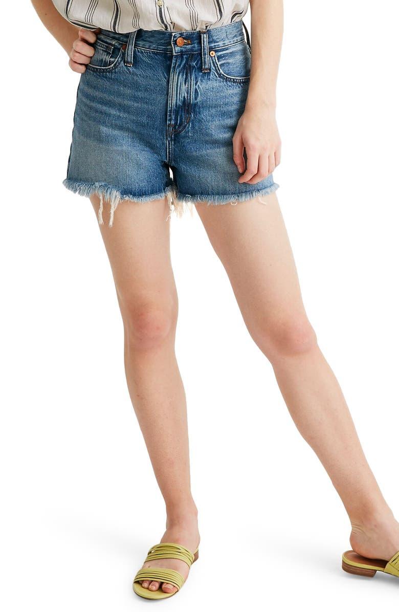 MADEWELL The Perfect Jean Shorts, Main, color, BERGMAN WASH