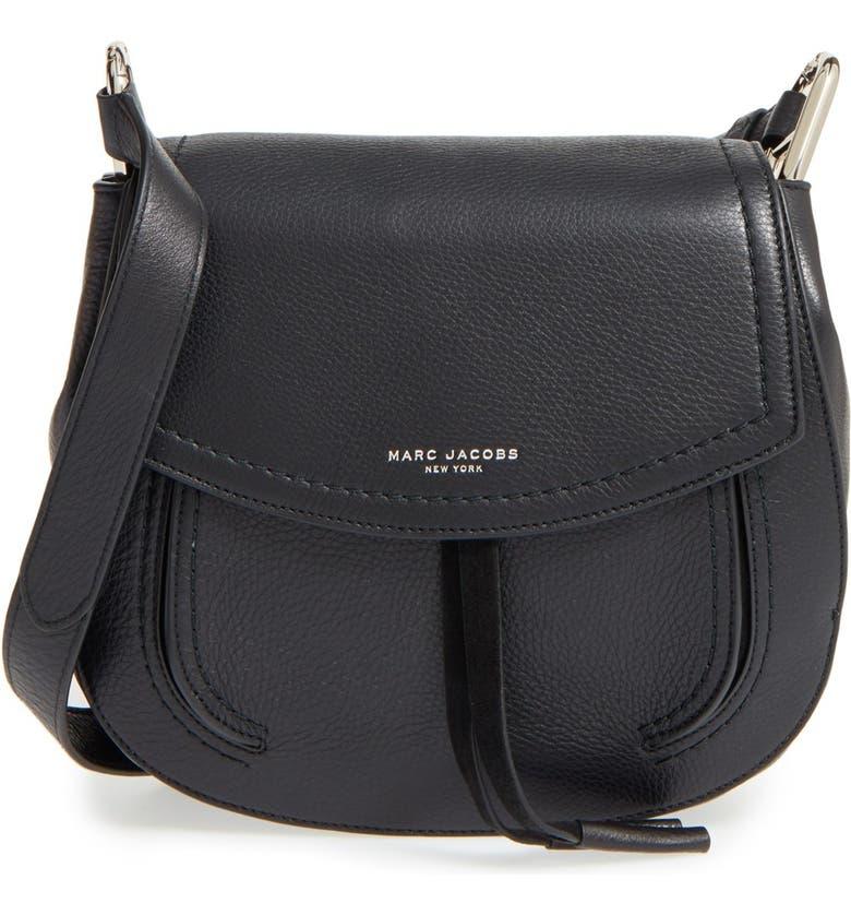 MARC JACOBS 'Maverick' Shoulder Bag, Main, color, 001