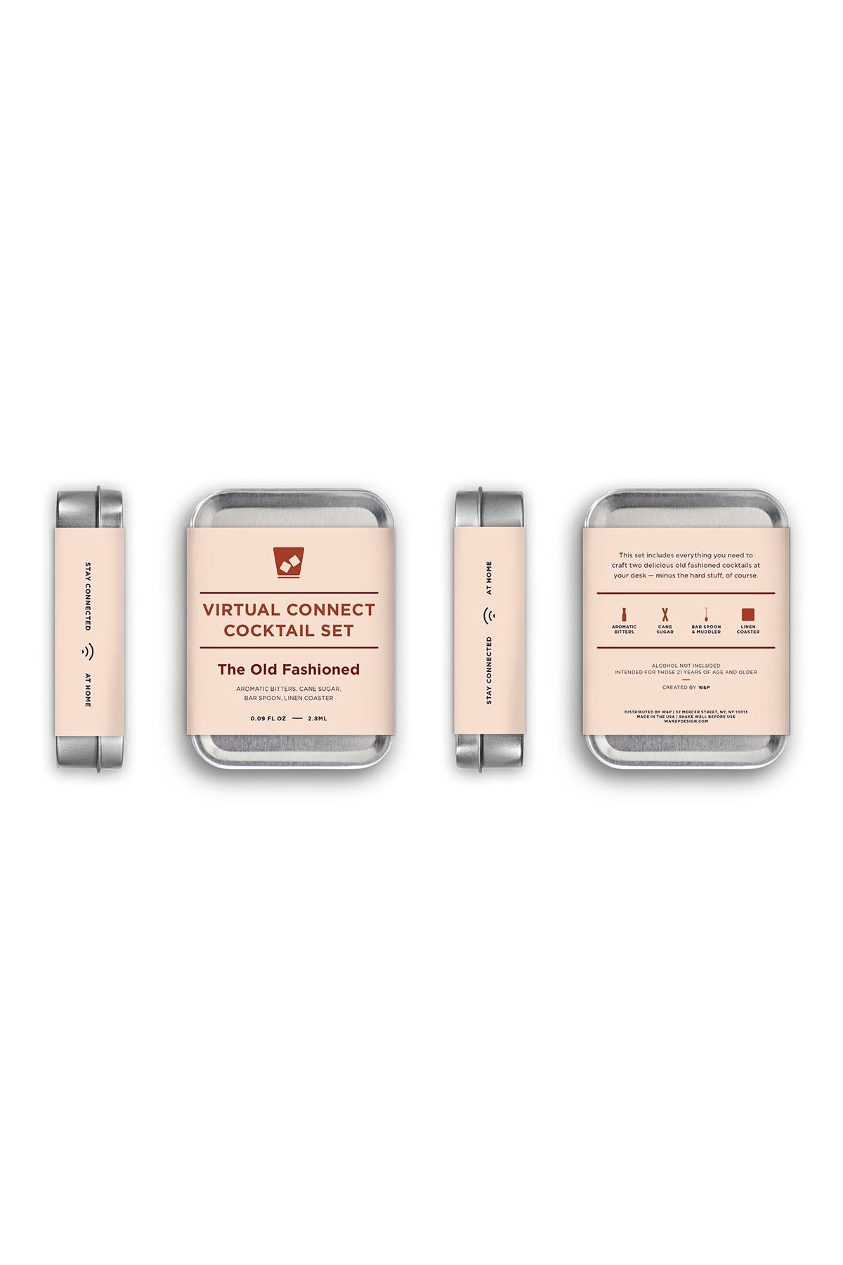 Image of W&P DESIGN Virtual Happy Hour Kit - Old Fashioned