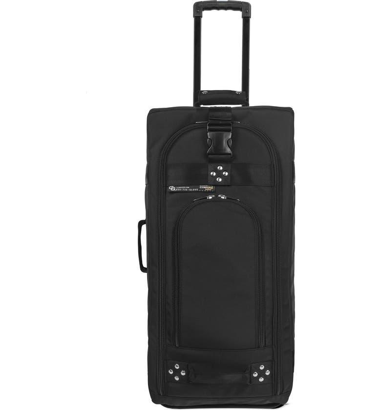 CLUB GLOVE <sup>®</sup> 'TRS Ballistic' Wheeled Suitcase, Main, color, BLACK/ BLACK