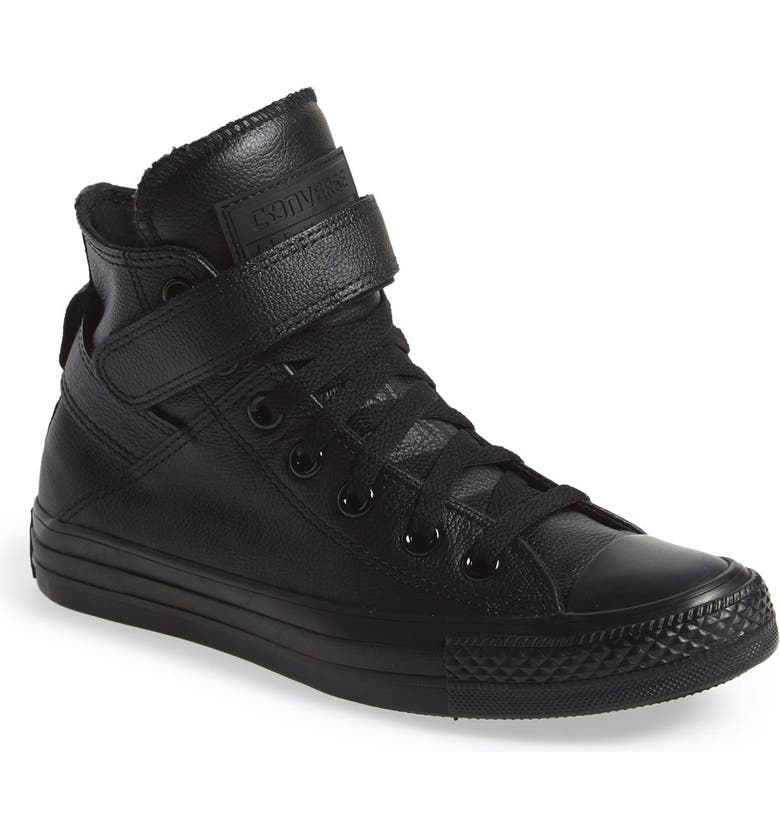 Chuck Taylor® All Star® 'Brea' Leather High Top Sneaker
