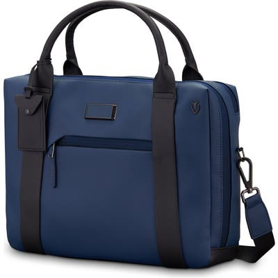 Vessel Signature 2.0 Faux Leather Briefcase - Blue