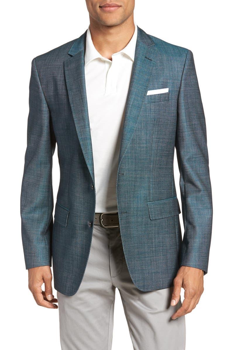 BOSS Hutsons Slim Fit Sport Coat, Main, color, 300