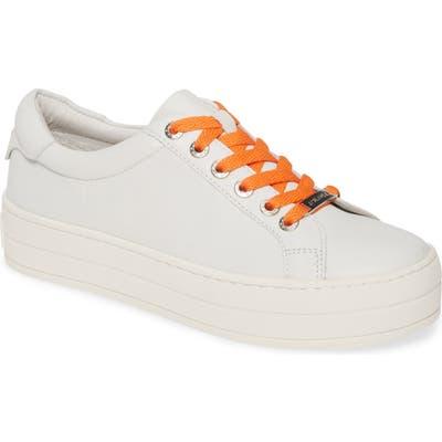 Jslides Hippie Platform Sneaker- White