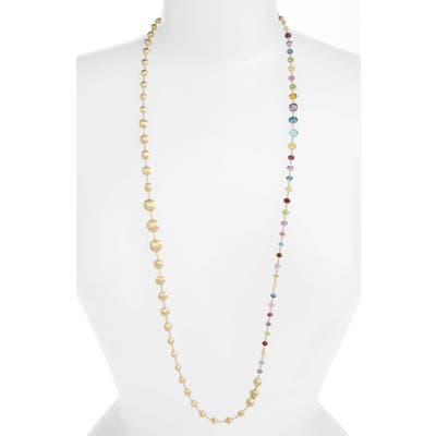 Marco Bicego Africa Semiprecious Stone Long Strand Necklace