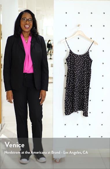 Polka Dot Silk Slipdress, sales video thumbnail