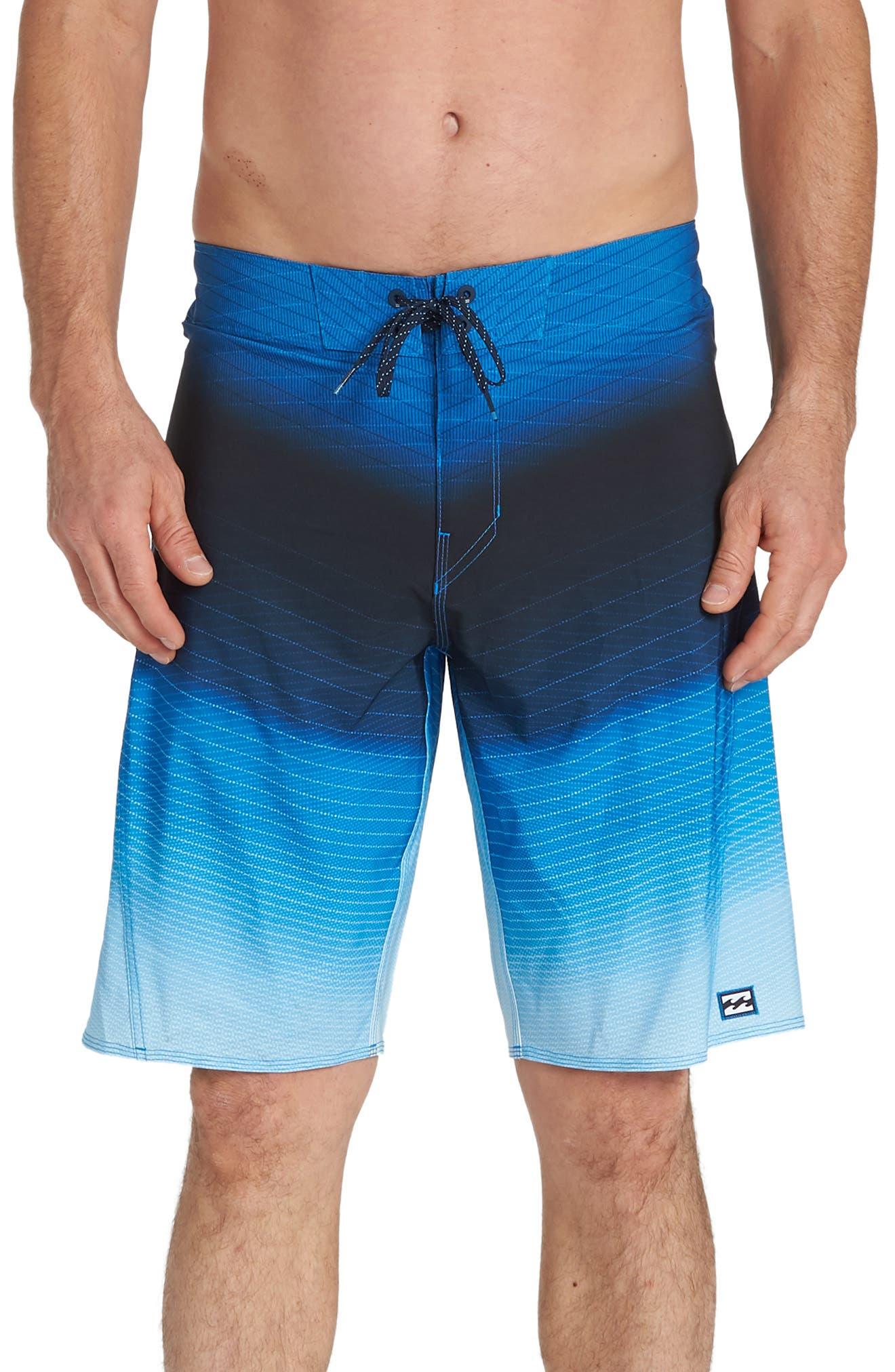 Billabong Fluid Pro Board Shorts, Blue