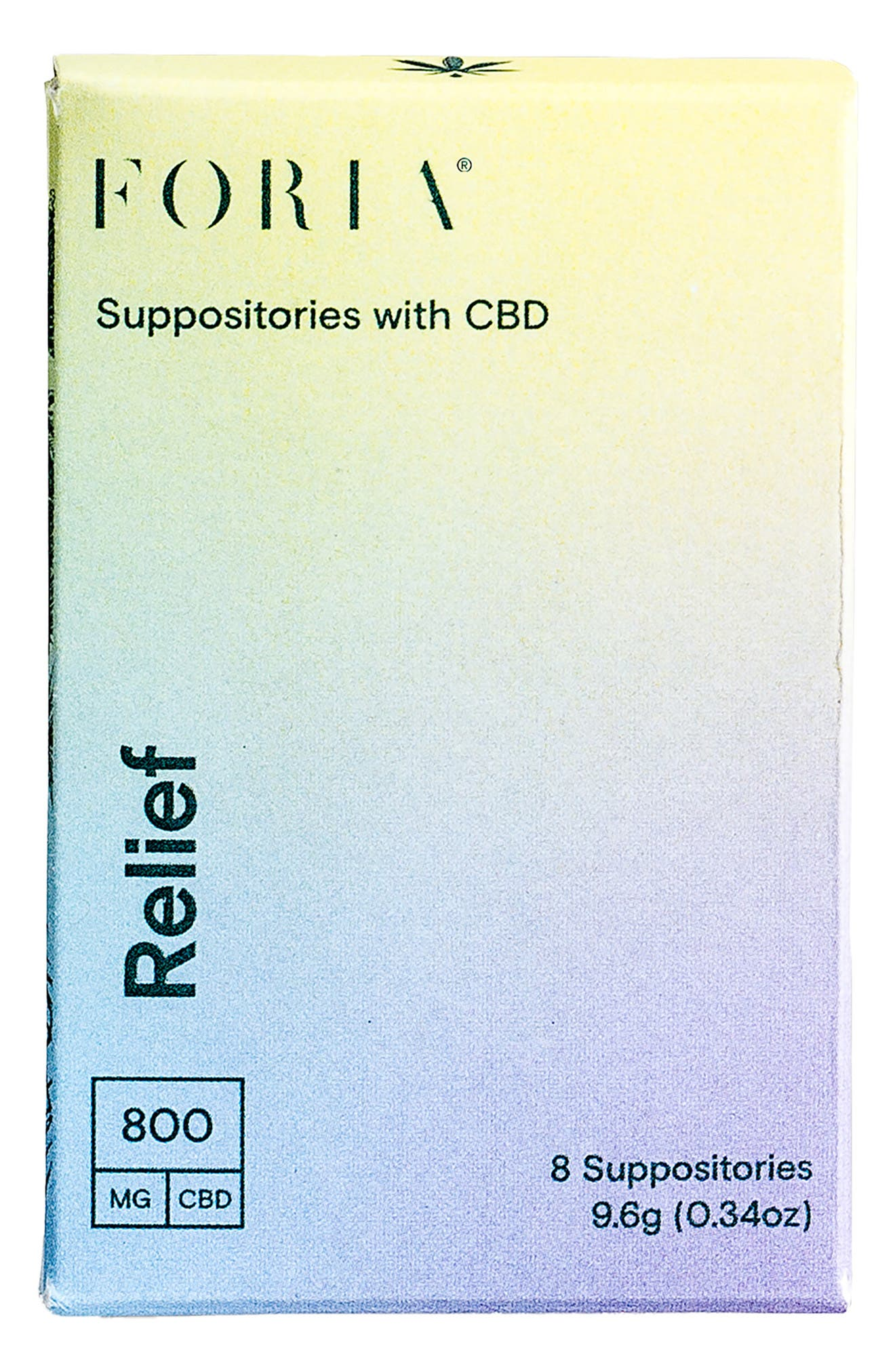 Relief Suppositories With Cbd