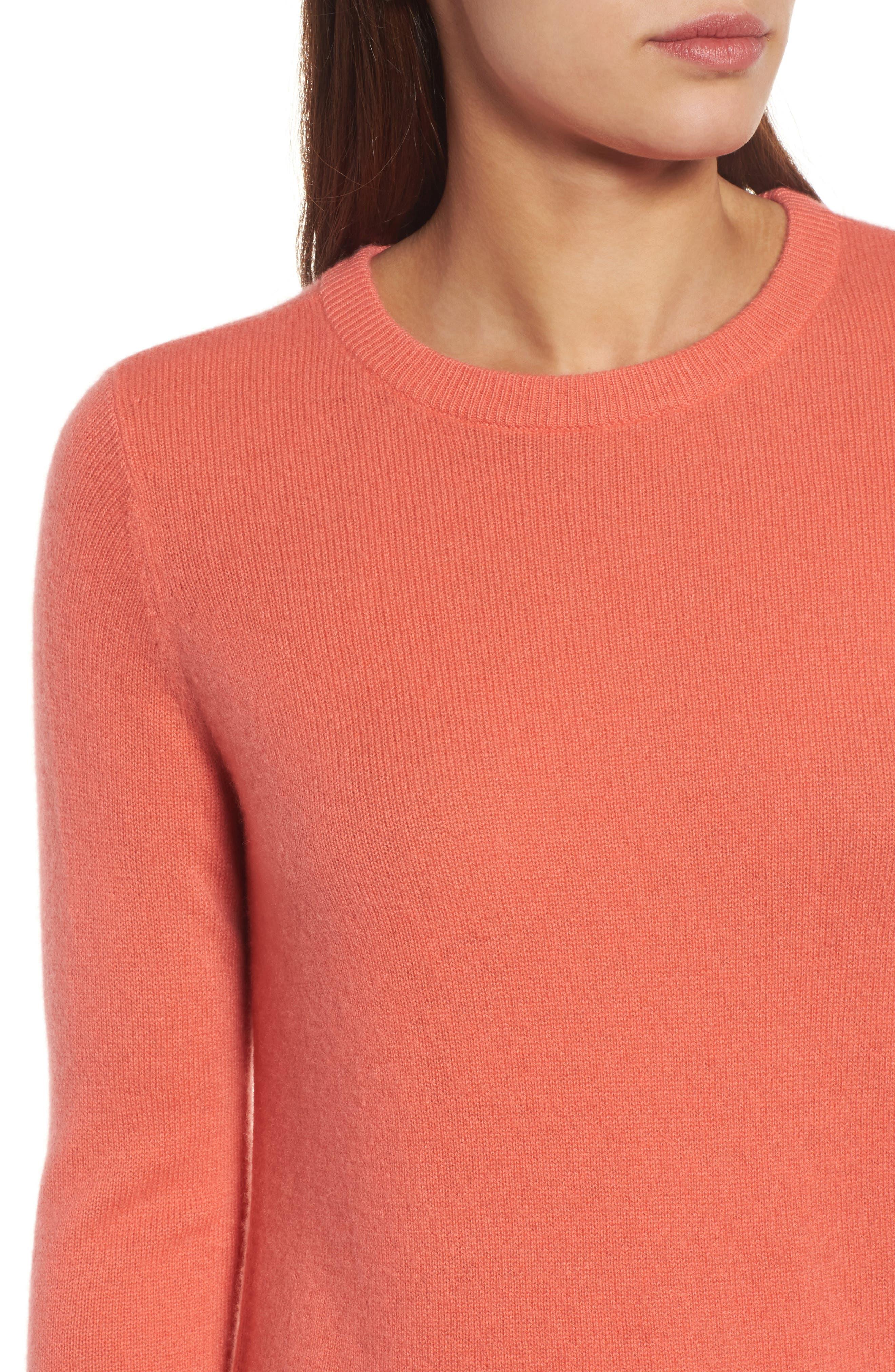 ,                             Crewneck Cashmere Sweater,                             Alternate thumbnail 234, color,                             950