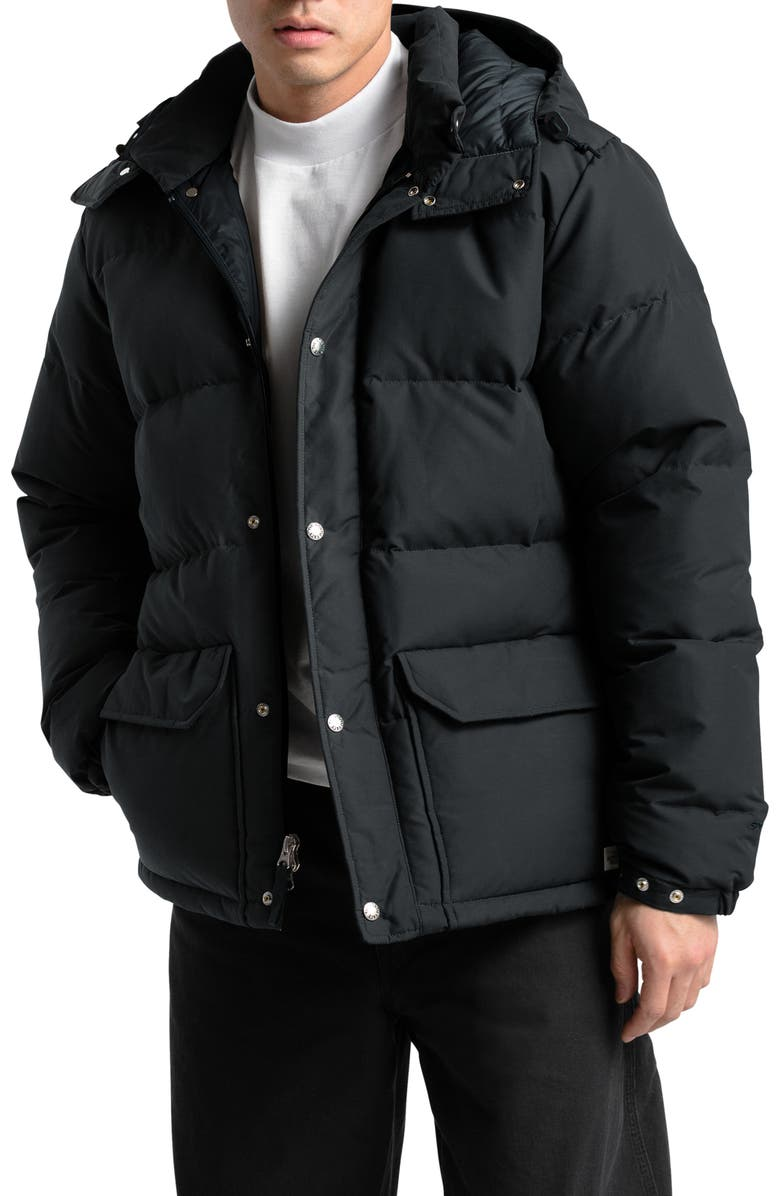 THE NORTH FACE Sierra 3.0 Water Repellent 600 Power Fill Down Jacket, Main, color, TNF BLACK