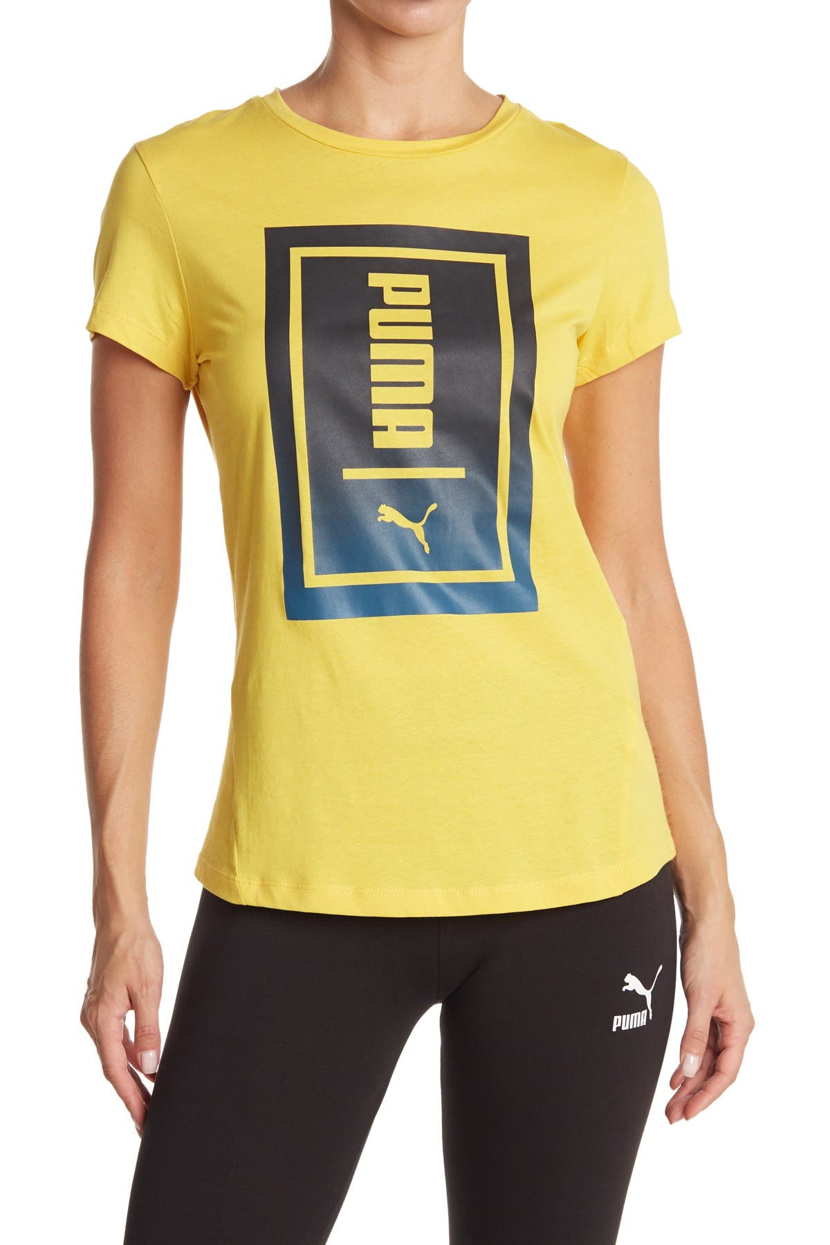 Image of PUMA Two-Tone Knockout Tee