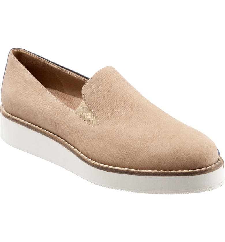 SOFTWALK<SUP>®</SUP> Whistle Slip-On, Main, color, SAND LEATHER