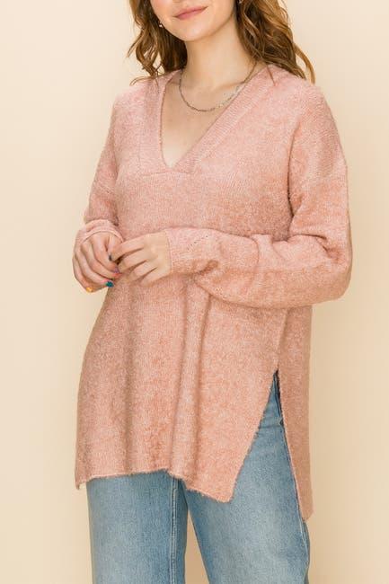 Image of Double Zero V-Neck Slouchy Sweater