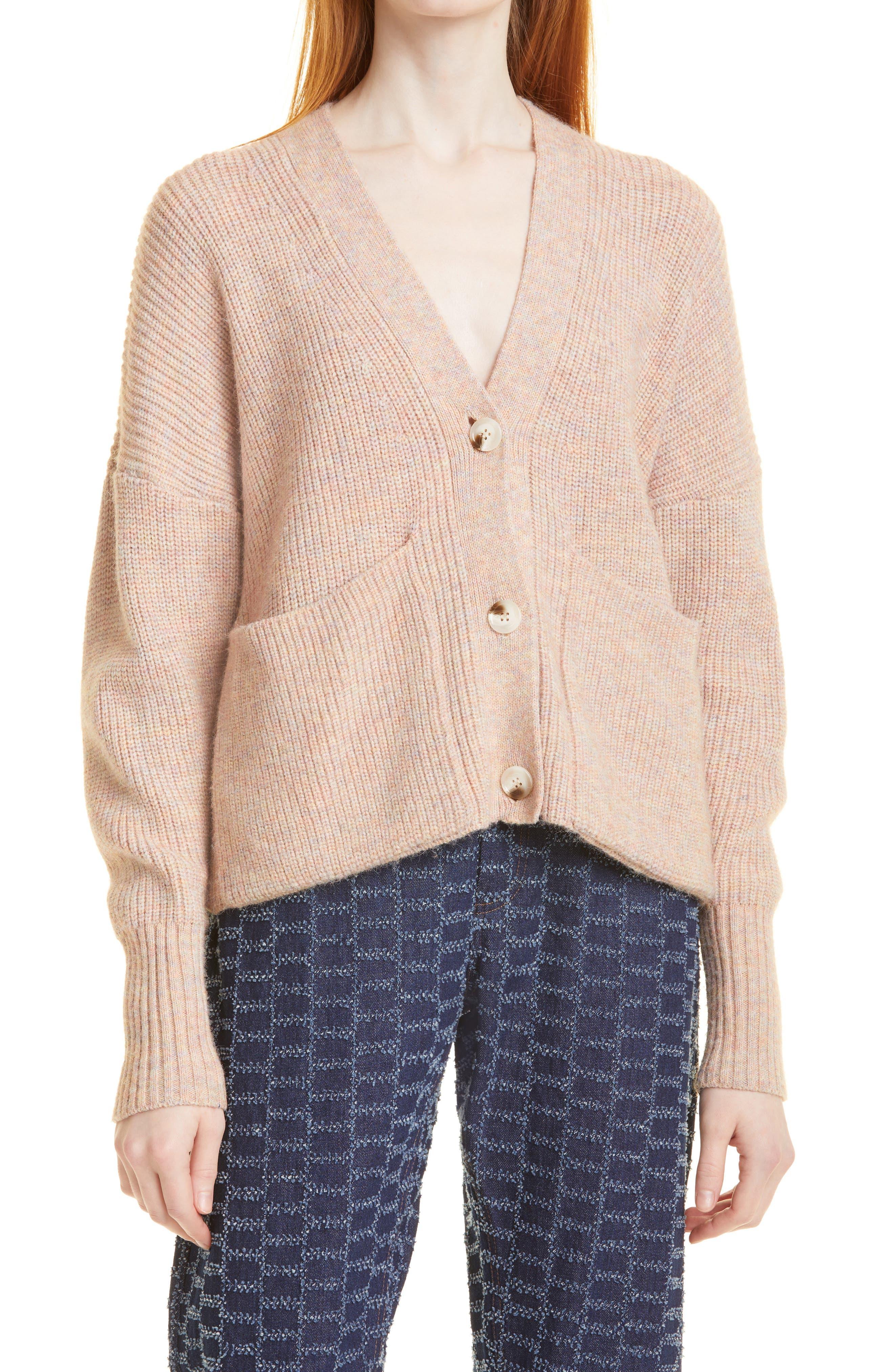 Reese Shaker Stitch Cardigan Sweater