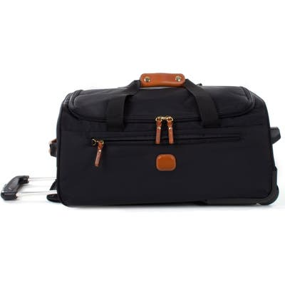 Brics X-Bag 21-Inch Rolling Carry-On Duffle Bag - Black