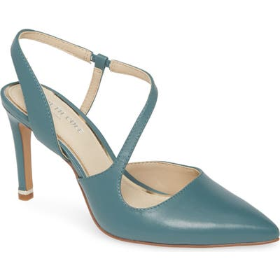 Kenneth Cole New York Riley 85 Pointed Toe Pump, Blue/green