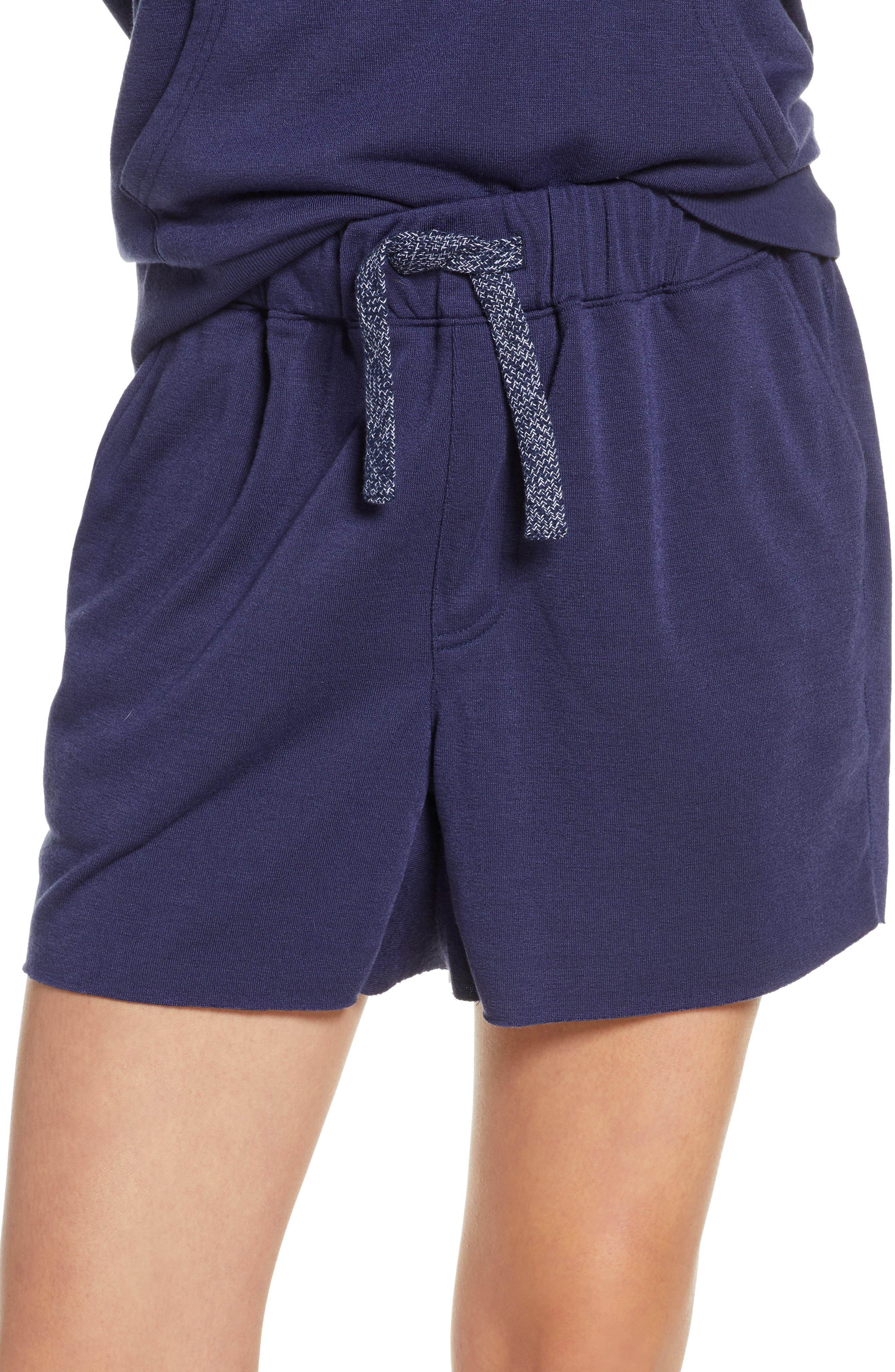 Chalmers Alexa Pajama Shorts, Blue
