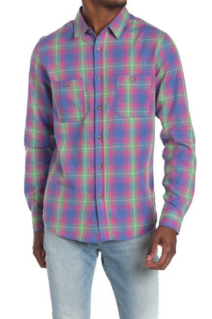 Image of Sovereign Code Arin Plaid Regular Fit Shirt