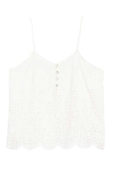 Image of Abound Eyelet Embroidered Camisole