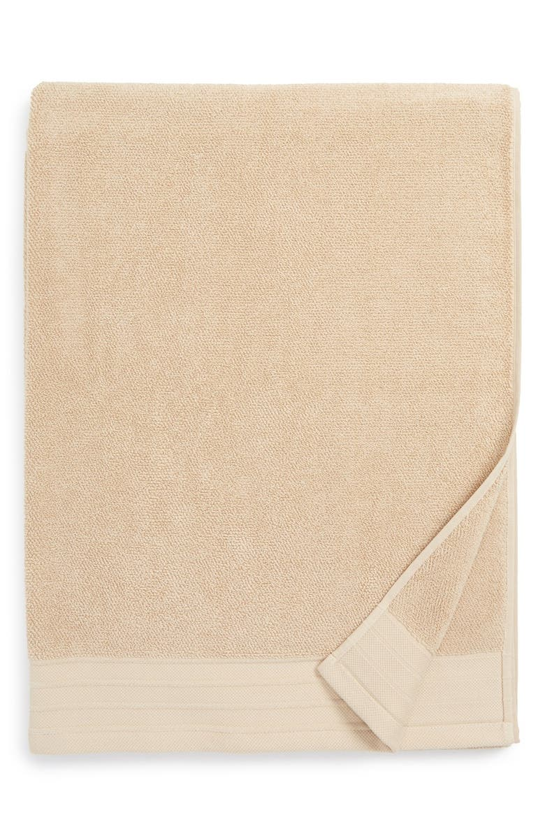 UGG<SUP>®</SUP> Classic Luxe Cotton Bath Sheet, Main, color, SAND