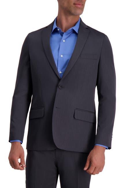 Image of Louis Raphael Slim Fit Stretch Heather Solid Urban Jacket