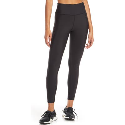 Soul By Soulcycle Grommet Side Stripe High Waist Tights, Black