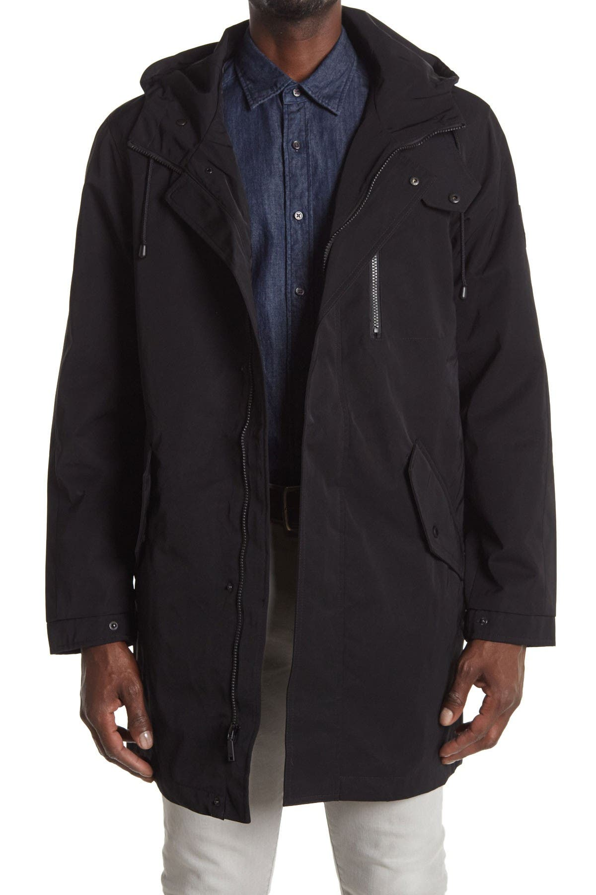 Image of Vince Camuto Hooded Anorak Jacket