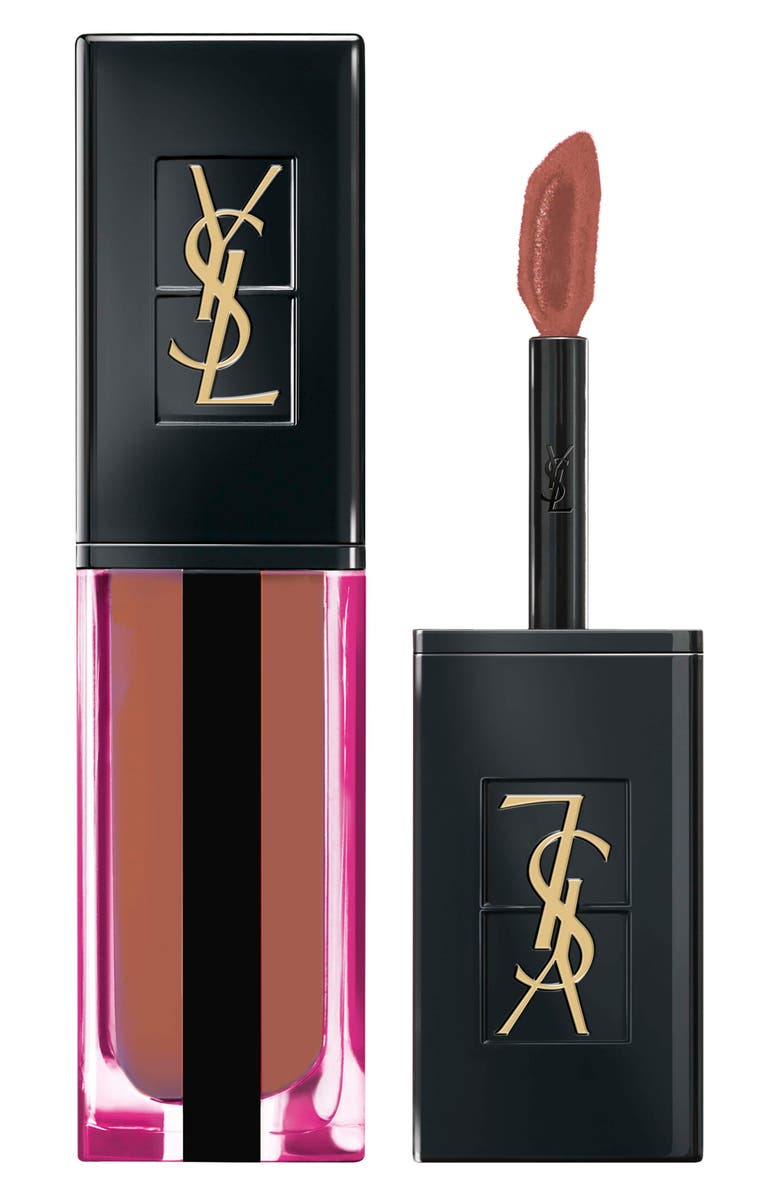 YVES SAINT LAURENT Vernis à Lèvres Water Stain Lip Stain, Main, color, 610 NUDE UNDERWATER
