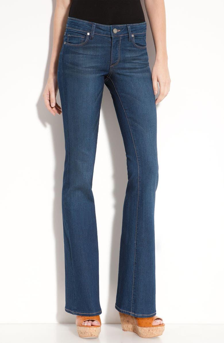 PAIGE Denim 'Skyline' Bootcut Stretch Jeans, Main, color, 400