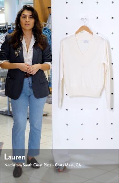 Essentials V-Neck Cashmere Sweater, sales video thumbnail
