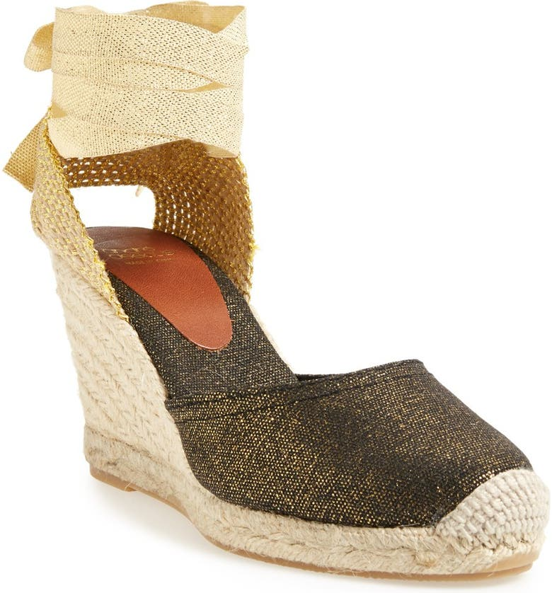 ANDRÉ ASSOUS 'Hilda' Espadrille Wedge Sandal, Main, color, 014