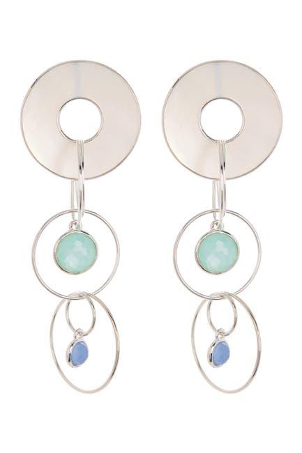 Image of Ippolita Sterling Silver Wonderland Triple Drop Earrings