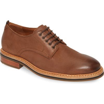 Cole Haan Frankland Grand Plain Toe Derby, Brown