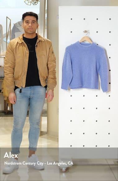 Cozette Alpaca & Wool Blend Crop Sweater, sales video thumbnail