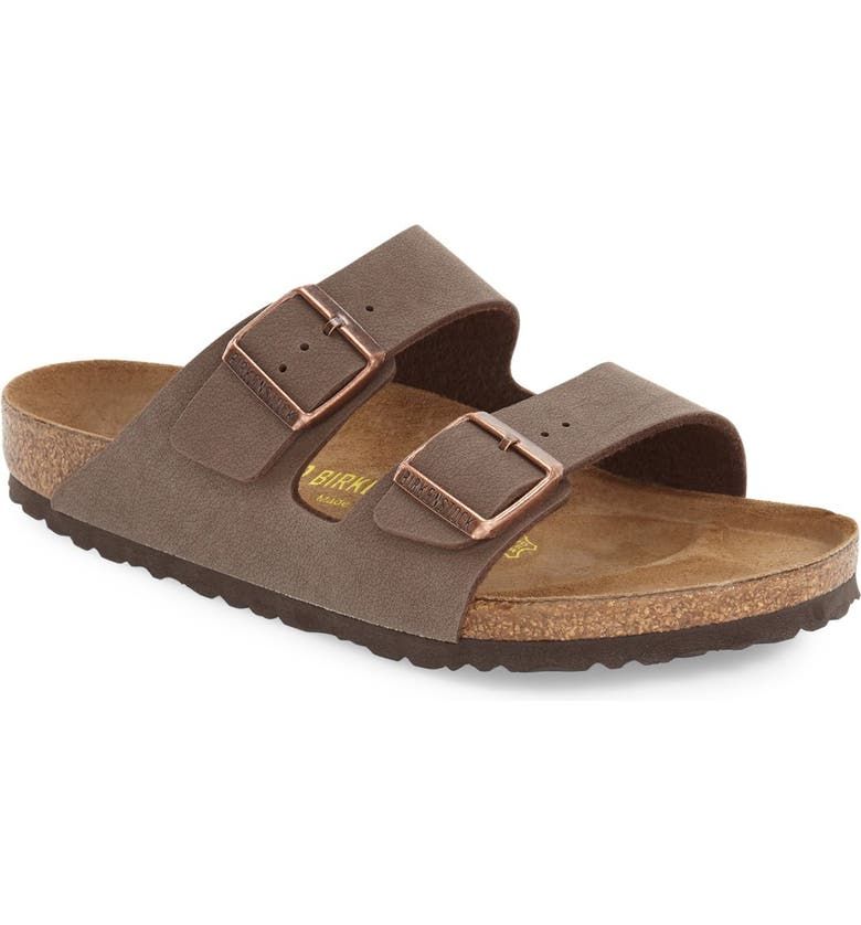 BIRKENSTOCK Arizona Slide Sandal, Main, color, MOCHA
