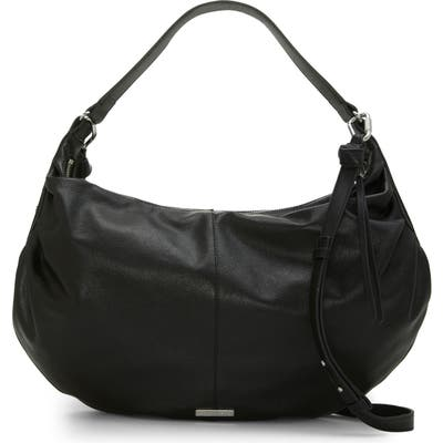 Vince Camuto Lysa Leather Hobo - Black