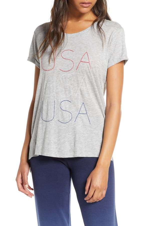 Pj Salvage USA LOVE TEE