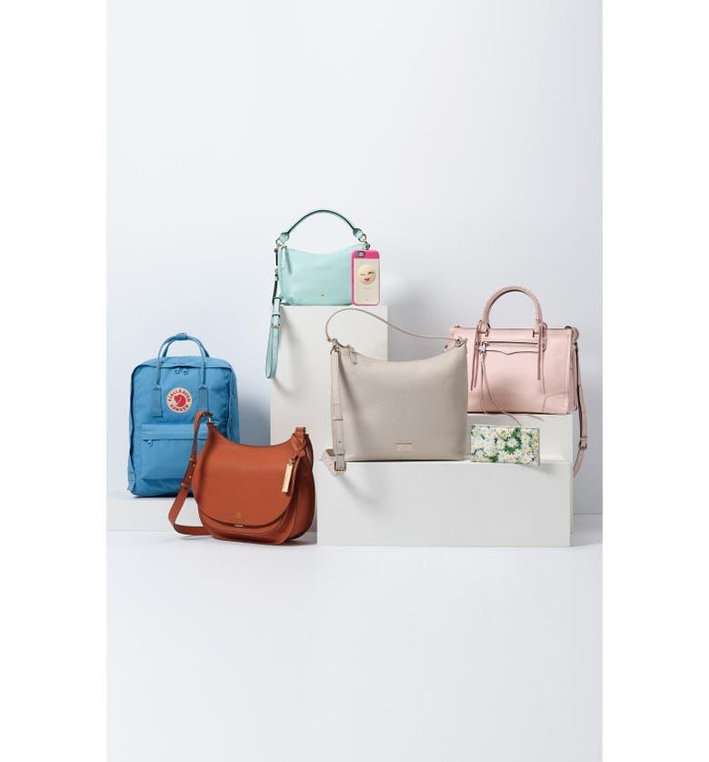 KATE SPADE NEW YORK 'cobble hill - mini ella' leather crossbody bag, Main, color, 250