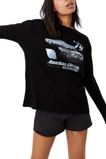 Image of Cotton On Martha Graphic Boyfriend Long Sleeve T-Shirt