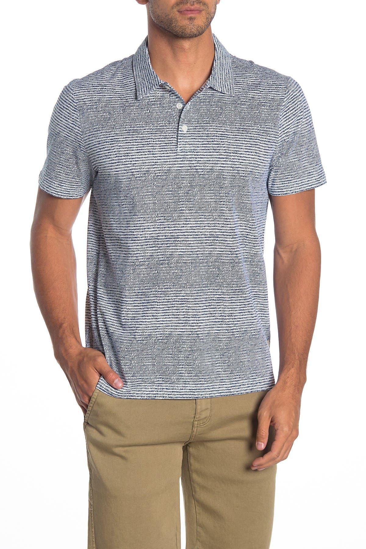 Image of Perry Ellis Short Sleeve Scribble Print Shirt