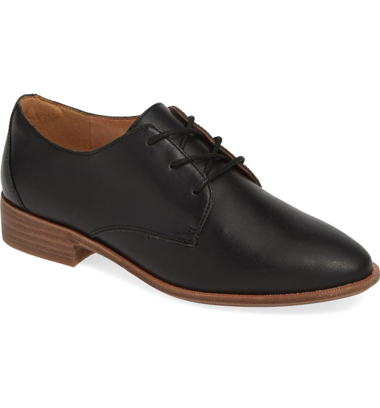 MADEWELL The Frances Derby, Main, color, TRUE BLACK