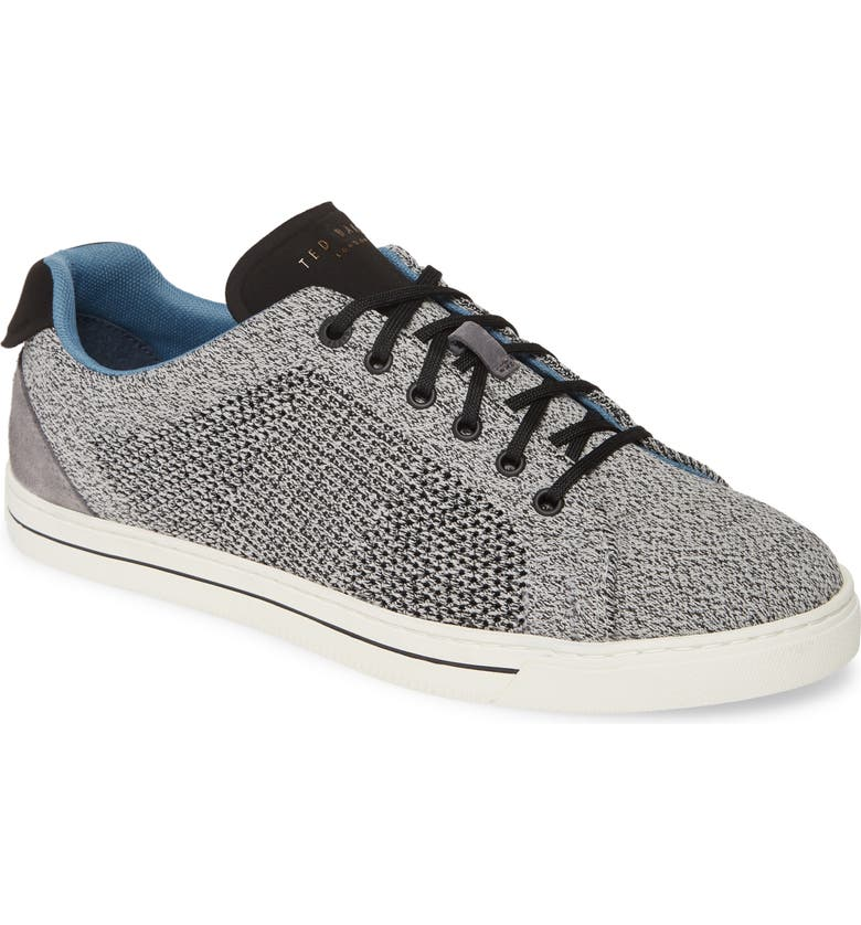 TED BAKER LONDON Chinat Sneaker, Main, color, GREY TEXTILE