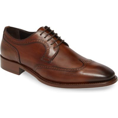 Johnston & Murphy Cormac Wingtip, Brown